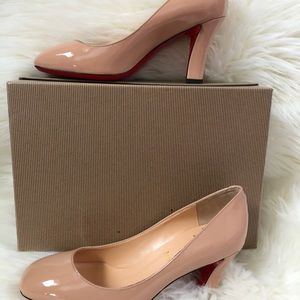 Shoes - Nude color women's high heels